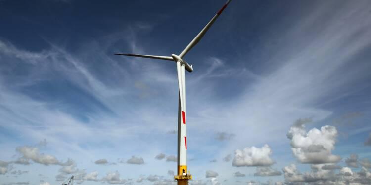 Feu vert au parc éolien au large de la baie de Saint-Brieuc