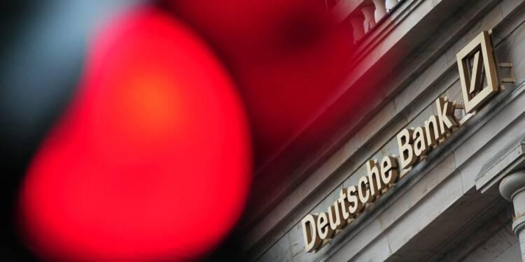 Lutte contre l'argent sale: Deutsche Bank paye 41 millions de dollars d'amende