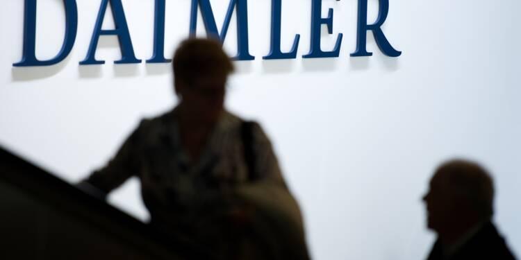 Scandale du diesel: Daimler aurait manipulé un million de voitures