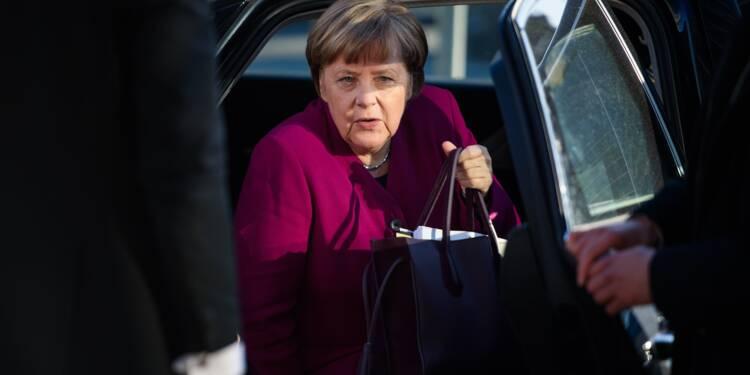 """Angela Merkel prête à des """"compromis douloureux"""" pour un gouvernement"""