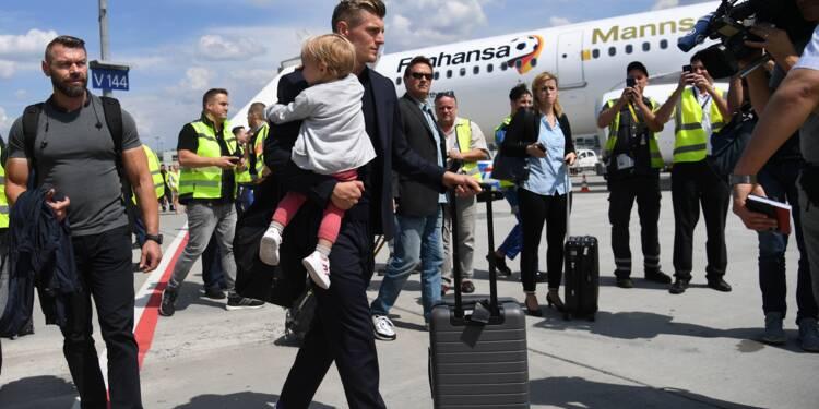 Mondial-2018: éliminée, l'Allemagne de retour chez elle