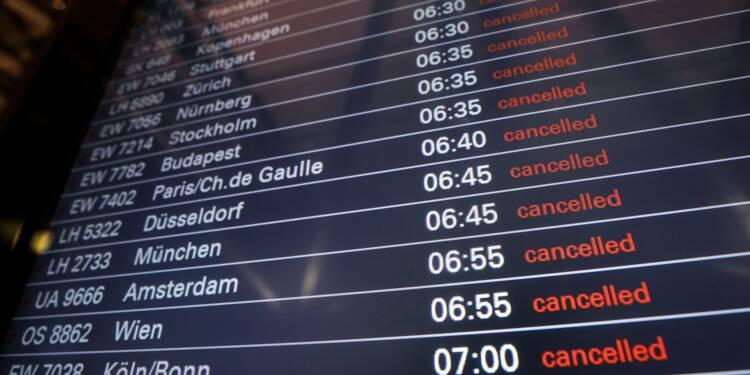 Allemagne: des centaines de vols annulés en raison d'une grève
