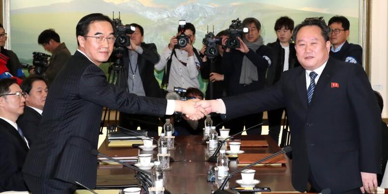 Pyongyang propose de participer aux JO lors du premier dialogue avec le Sud
