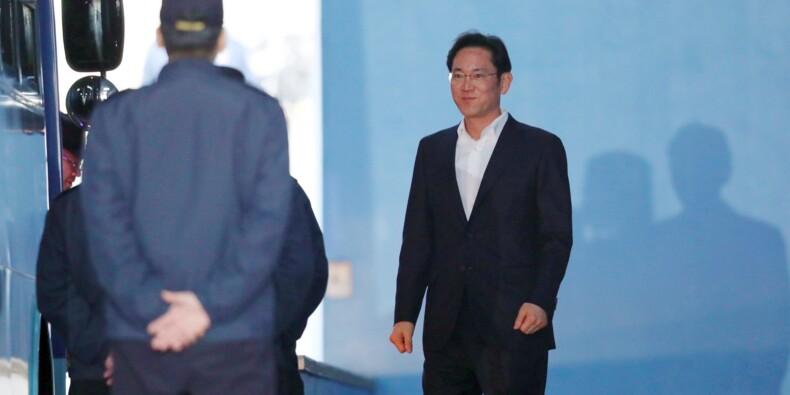 Corruption: la justice sud-coréenne libère l'héritier de Samsung