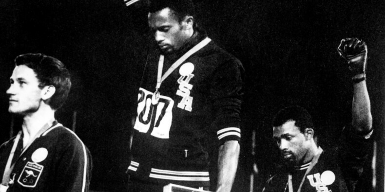 "Mexico-1968: le choc du podium ""Black Power"" inspire toujours"