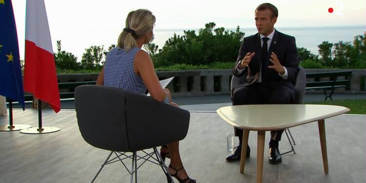 """Retraites: Macron """"préfère un accord sur la durée de cotisation plutôt que sur l'âge"""""""