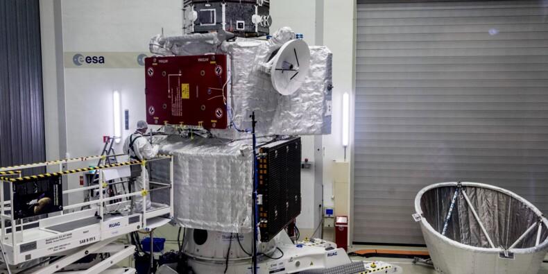 Cap sur Mercure et ses mystères pour deux sondes spatiales