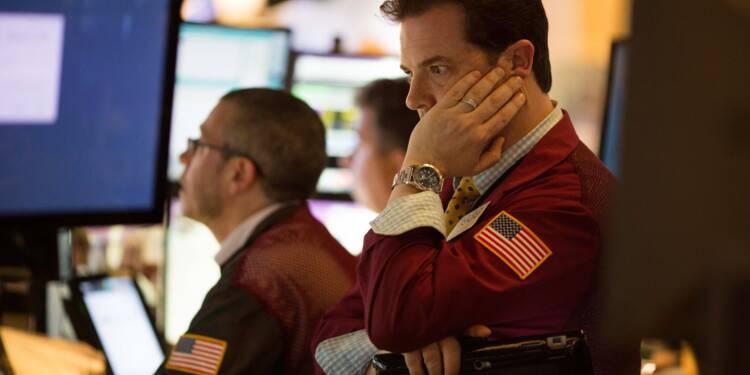 Petit rebond de Wall Street