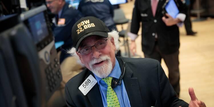 Wall Street fait une pause, le Dow Jones décroche un 7e record d'affilée