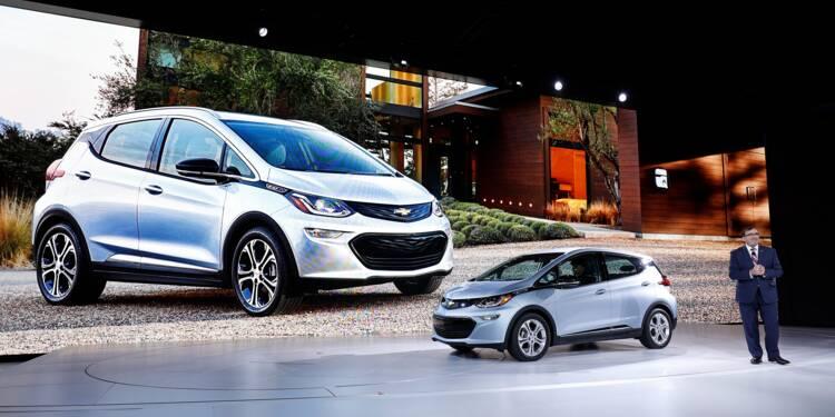 General Motors va lancer 20 modèles électriques d'ici 2023