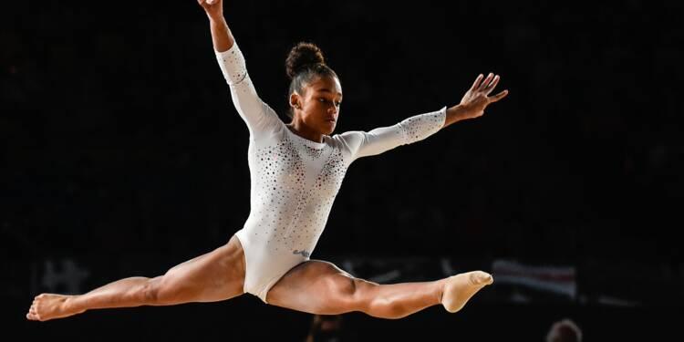Euro de gymnastique: la Française Mélanie de Jesus dos Santos en or au sol
