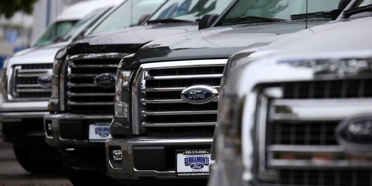 Ford paie moins d'impôts et réduit ses coûts: le bénéfice flambe