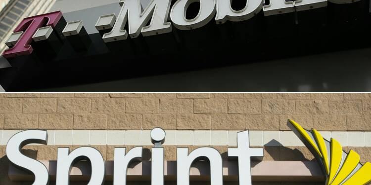 Télécoms: T-Mobile et Sprint annoncent leur fusion aux USA