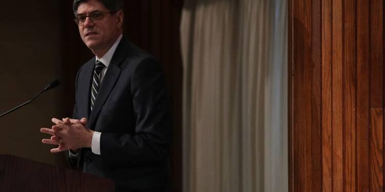 """USA: les coupes d'impôts, """"une bombe à retardement"""", selon Lew (ex-Trésor)"""