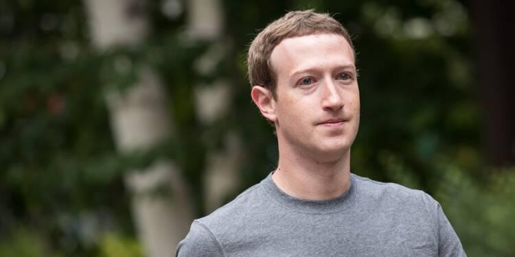 Le patron de Facebook sommé de rendre des comptes au Congrès