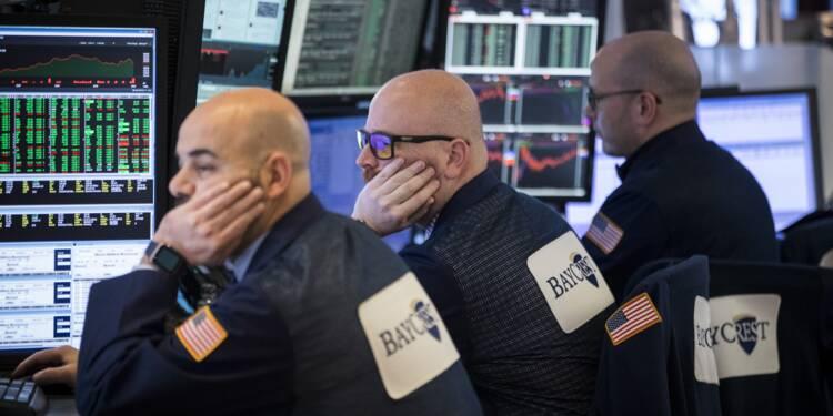 Wall Street finit en baisse, accueillant Jerome Powell avec inquiétude