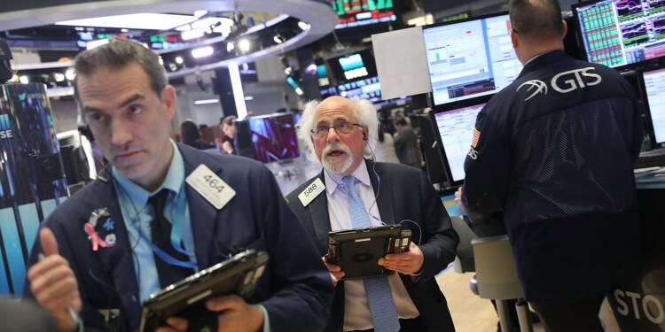 Wall Street en ordre dispersé après son plongeon de jeudi