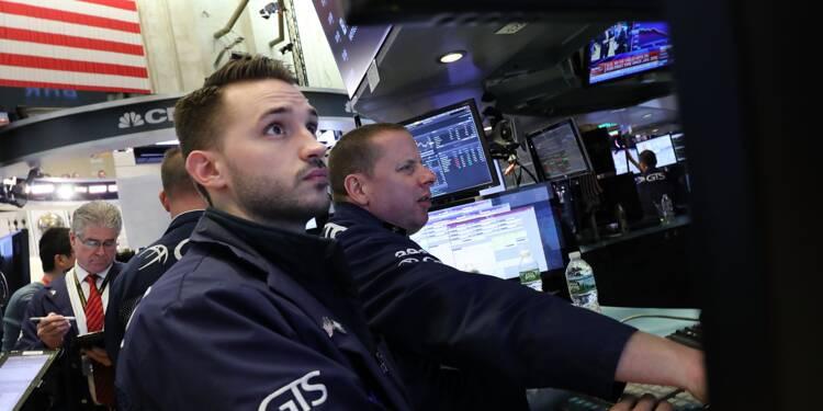Wall Street rattrapée par les interrogations sur les taux