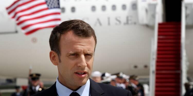 """Nucléaire iranien: Macron qualifie d'""""erreur"""" la sortie des Etats-Unis"""