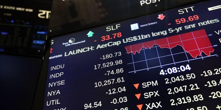 Wall Street anxieuse face à la montée des taux et les tensions géopolitiques
