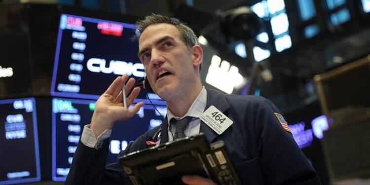 Wall Street rattrapée à l'ouverture par les tensions commerciales