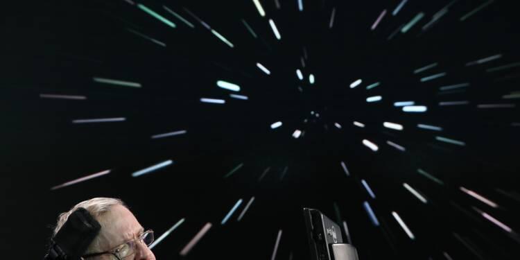 La voix de Stephen Hawking envoyée dans l'espace pour son inhumation