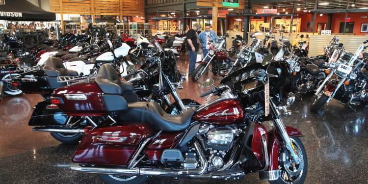 """Harley-Davidson: Washington fait face aux """"conséquences"""" de sa politique commerciale, selon l'UE"""