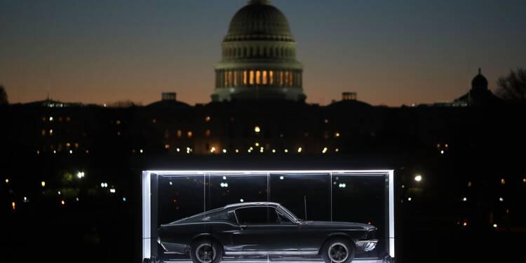 Ford célèbre sa mythique Mustang, fabriquée à dix millions d'exemplaires