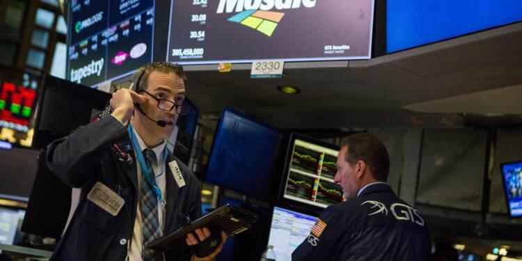 Wall Street, apaisée face à la crise turque, termine en hausse