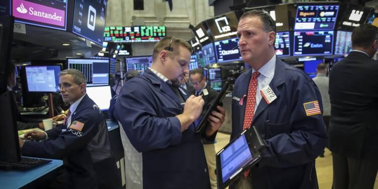 Wall Street chute à nouveau au terme d'une semaine éprouvante