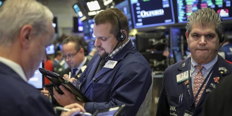 Semaine sombre à Wall Street, lestée par les résultats d'entreprises