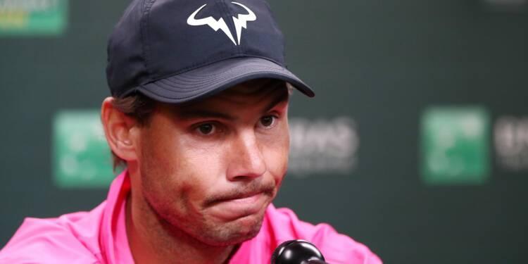 Déception à Indian Wells: le choc Nadal-Federer annulé