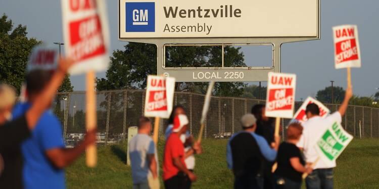 Les salariés américains de GM en grève, la première depuis 2007