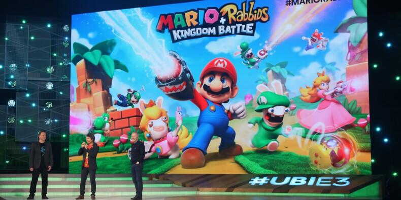 Ubisoft et Nintendo s'allient pour marier Mario aux Lapins Crétins