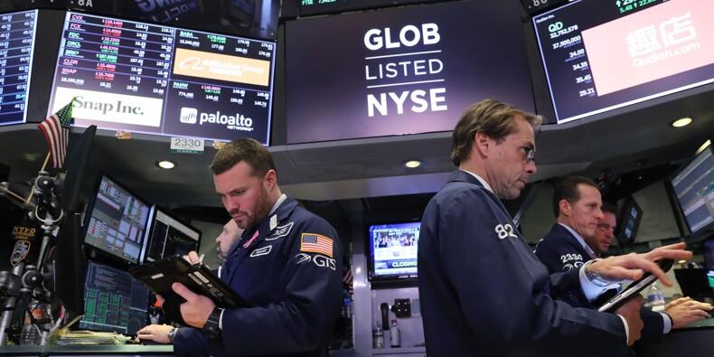 Wall Street freinée par des résultats en demi-teinte