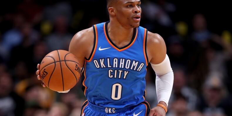 NBA: Westbrook toujours plus haut, Cleveland au ralenti