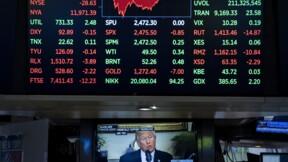 Wall Street clôture en ordre dispersé, affaiblie par Apple