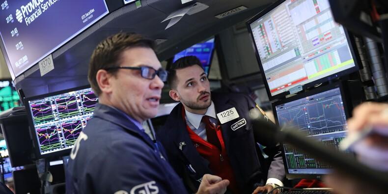 Wall Street: le Dow Jones affiche sa plus forte baisse depuis mai 2017