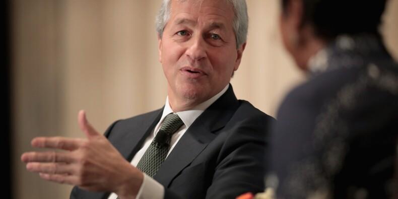 Le PDG de JPMorgan va toucher 29,5 millions de dollars pour 2017