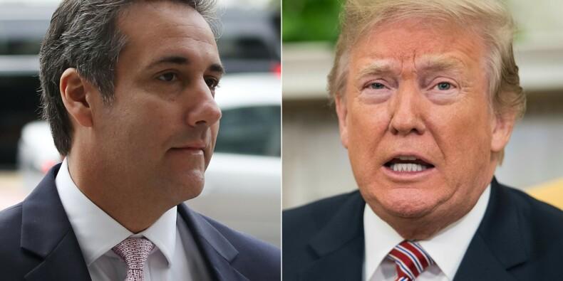 Enregistré à son insu, Trump s'en prend à son ex-avocat