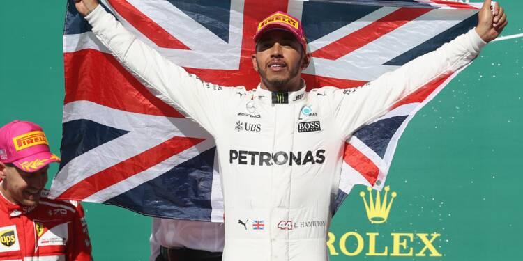 GP du Mexique: Hamilton touche au but