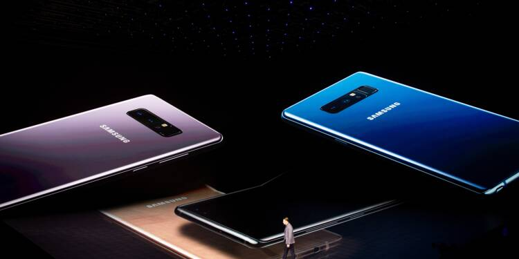 Smartphones: faible croissance, tirée par le succès des grands écrans