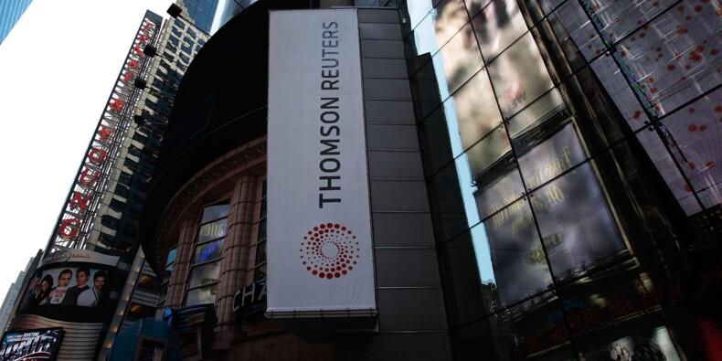 Résultats en repli pour Thomson Reuters, qui devient actionnaire du LSE