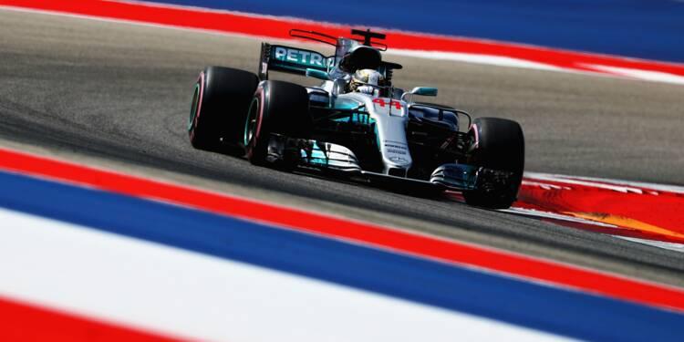 GP des Etats-Unis: Hamilton-Vettel, duel acharné sous le soleil du Texas
