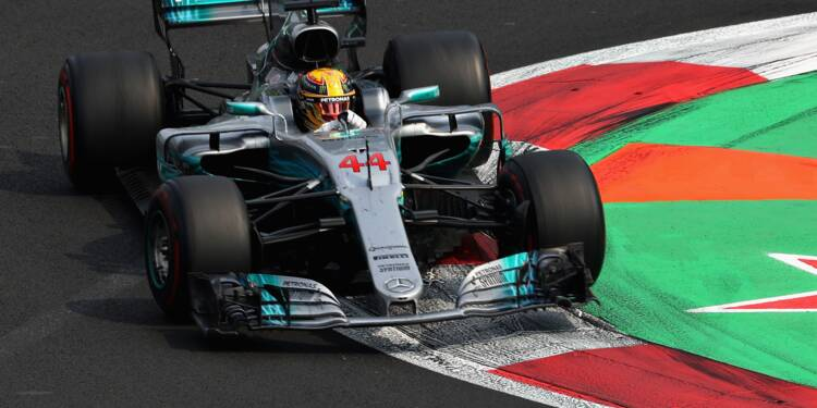GP du Mexique: Lewis Hamilton (Mercedes) sacré champion du monde de F1 pour la 4e fois
