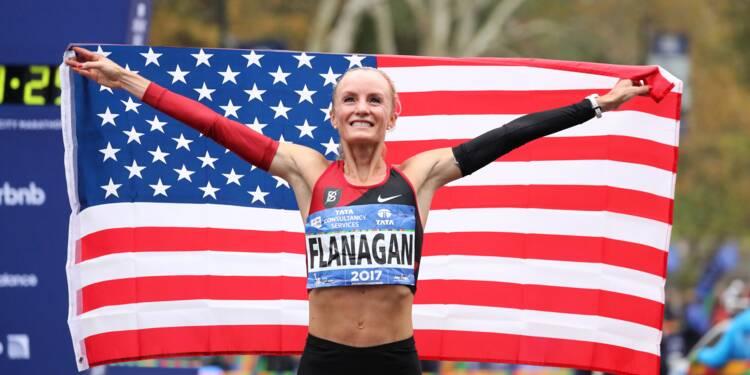 Marathon de New York: l'Américaine Flanagan signe une victoire historique et symbolique