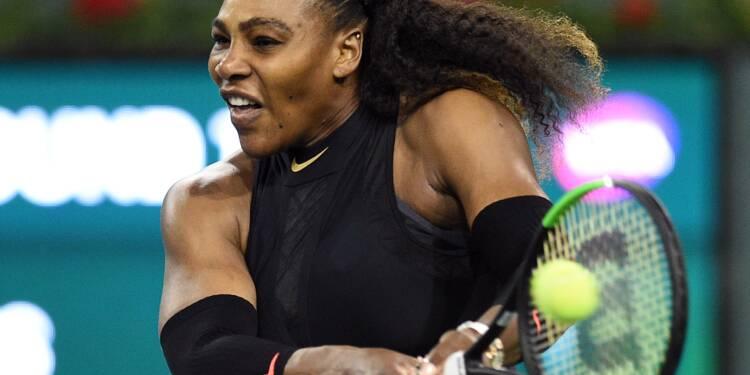 Tennis: retour gagnant pour Serena Williams à Indian Williams