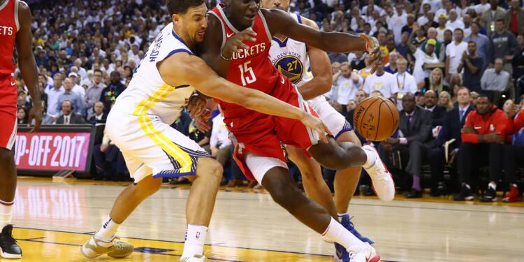 NBA: Golden State dans l'ombre de Houston en play-offs