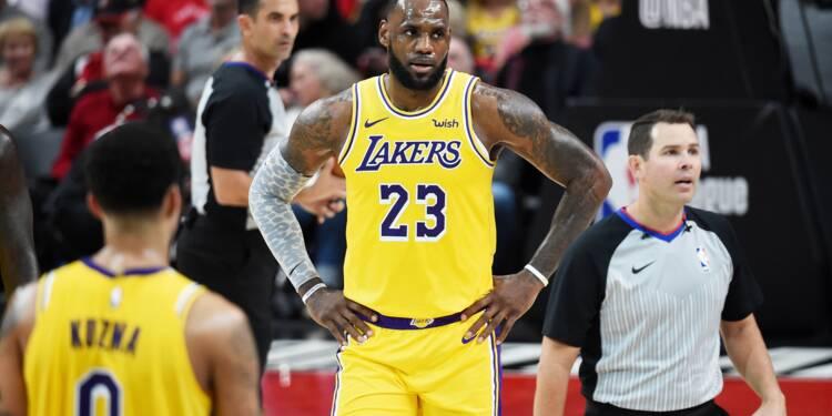 NBA: Portland gâche les grands débuts de LeBron James avec les Lakers