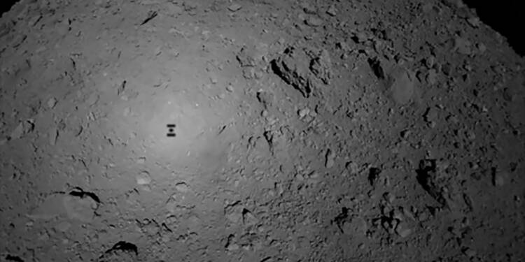 Le robot franco-allemand Mascot largué sur un astéroïde par une sonde japonaise